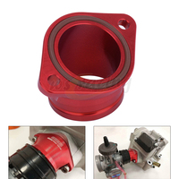 CNC Aluminum Alloy Carburetor Intake Manifold Interface Pipe O Ring For ZONGSHEN NC250 NC450 NC 250 450 Motorcycle