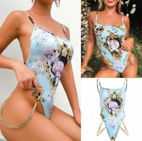 US Women Sexy Backless Romper Top Vest Bodysuit Jumpsuit Underwear Clubwear