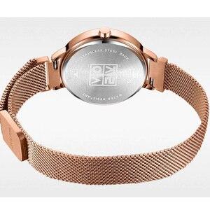 Image 4 - Fivela magnética julius lady relógio feminino miyota moda horas pulseira de aço inoxidável relógio de negócios presente aniversário da menina