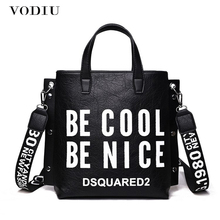 Women Leather Handbags Big Female Bags Messenger Shoulder Bag Ladies Crossbody New Cool Fashion Designer Large Shopping Tote цена