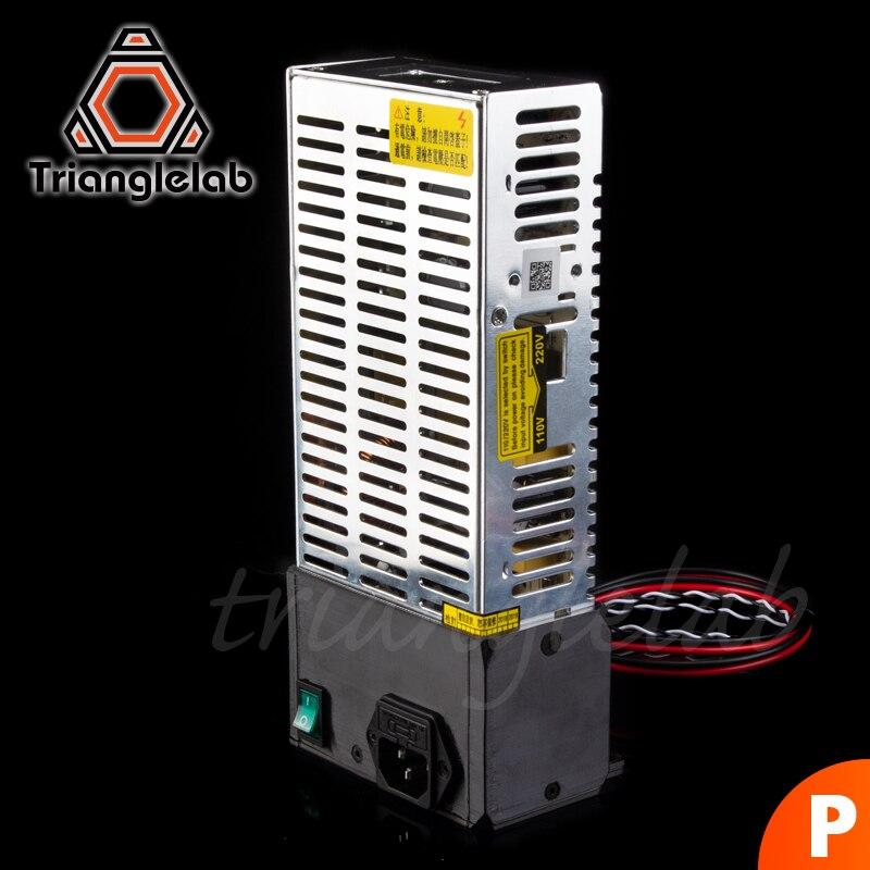 Trianglelab alta qualidade poder entrar em pânico e unidade de alimentação PSU 24 V 250 W para impressora Prusa i3 MK3 3D kit