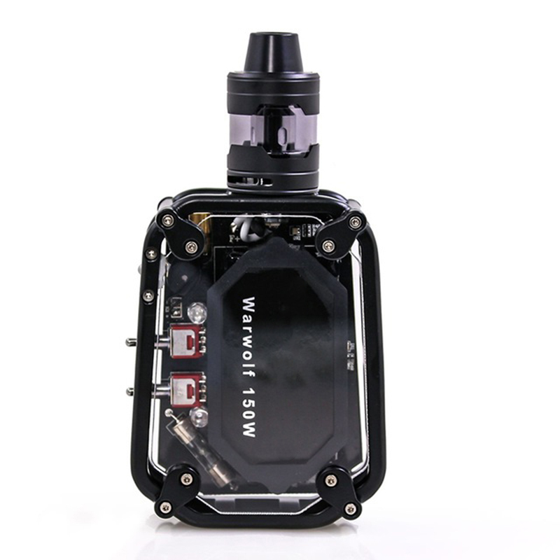 Kit Cigarette électronique 2200 mAh batterie 50 w 100 w 150 w vape mod boîte Laser Mod 510 fil vaper