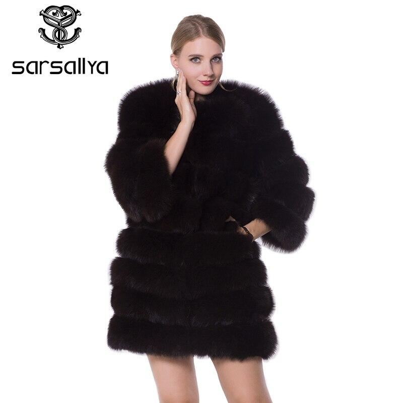 9d7f7b35e 2018 nueva chaqueta de invierno para mujer grande de piel de mapache con  capucha abrigo de
