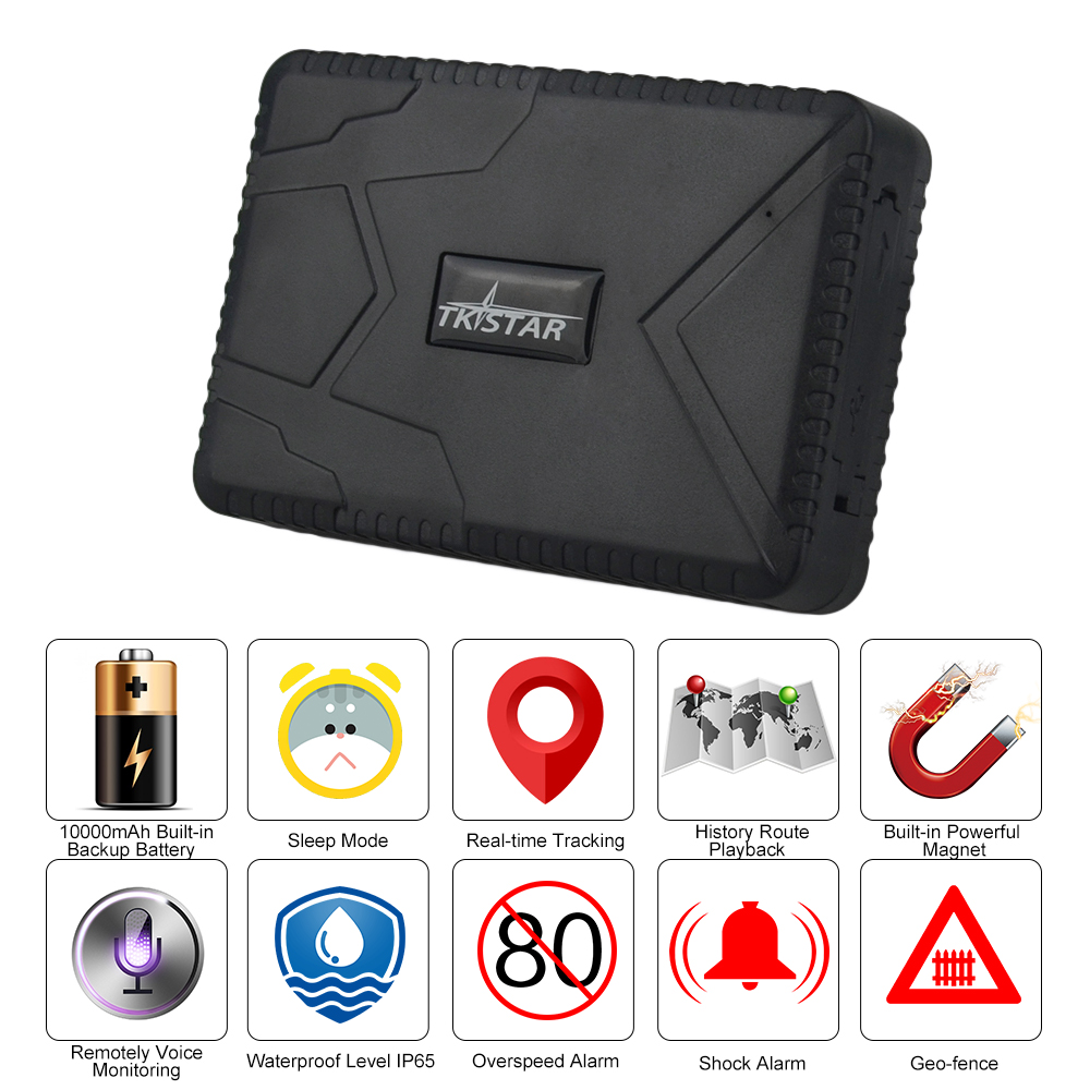 Car Tracker TK915 GPS Tracker 10000mAh Battery GPS Rastreador 120days Standby Localizador Car Vehicle GPS Vehiculo