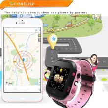 Детские Смарт-часы, наручные часы 1,44 дюймов, сенсорный экран LBS, позиционирование, удаленный мониторинг, умные часы, освещение, SOS часы, SIM звонки