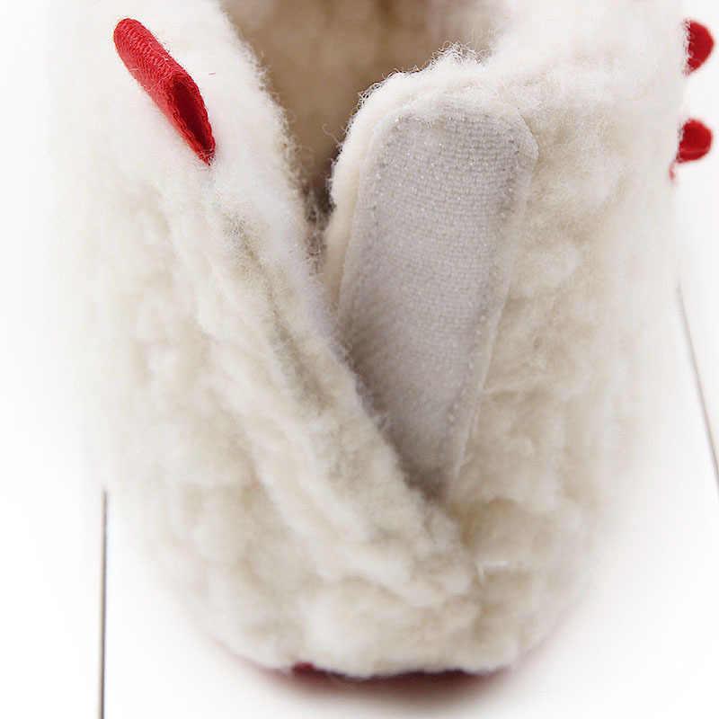 Winter Short Plush Baby Elk Toddler Shoes Baby Toddler Shoes Baby Boots Newborn Shoes  Baby Booties