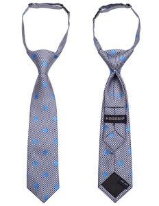 Image 4 - Lot de 3 cravates tissées pour enfants 27cm