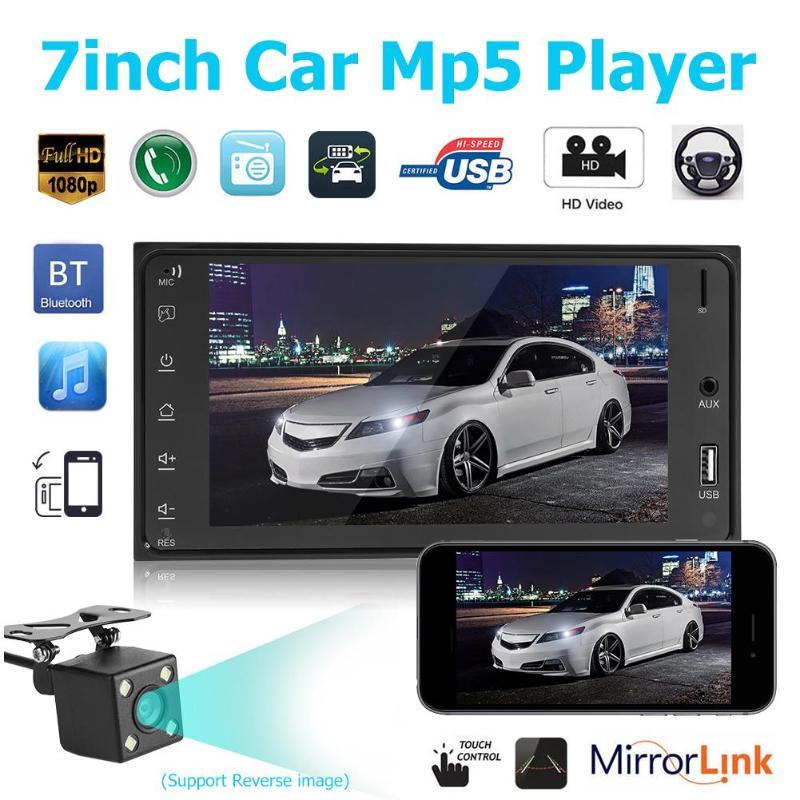 7 Inch 2DIN HD Touch Screen font b Car b font Stereo MP5 Player FM font