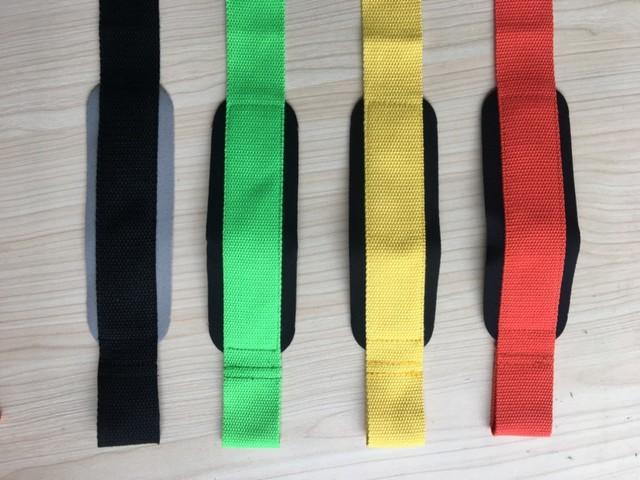 2pcs gym lifting straps weightlifting wrist weight belt bodybuilding gloves for women men fitness crossfit barbells power sport Uncategorized