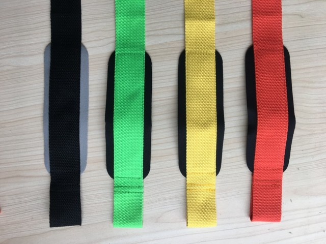 Gym Weightlifting Wrist Straps Gloves