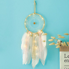 New girl heart contracted pink dream net pure and fresh style pendant interior hang friend gift small