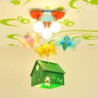 New Small House Children's Ceiling Lights Led Lamps Study Bedroom Led Children Ceiling Lamps Led Lustre Light Ceiling Lamp