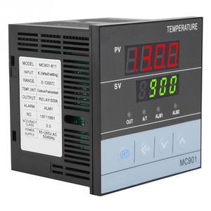 Image 3 - وحدة تحكم رقمية في درجة الحرارة PID مقاومة للماء MC901 K نوع PT100 مستشعر إدخال مرحل خرجات SSR