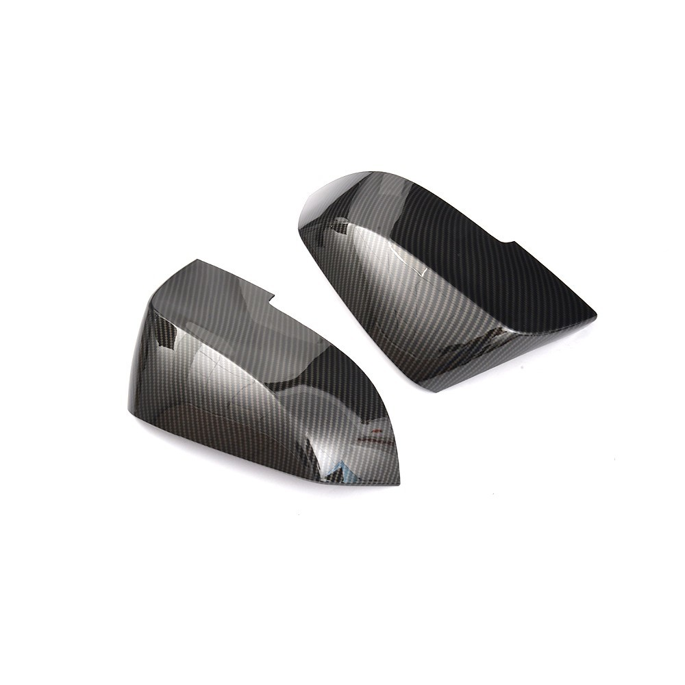 For BMW 2 Series F22 F23 X Series GT X1 X3 X6 2012 2017 218i 220i 228i Carbon Look Add on Style ABS Rear View Mirror Cover Caps