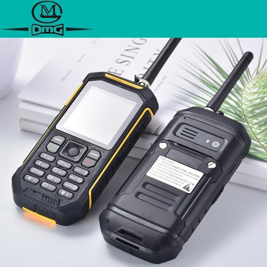 X6 Russian keyboard IP68 Rugged Waterproof shockproof Walkie talkie mobile phone 2500mAh FM Dual sim flashlight