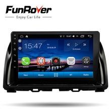 Funrover 2 din android 8.0 car dvd Per Mazda CX5 CX-5 CX 5 2013-2016 auto radio lettore multimediale stereo vedio navigazione gps fm