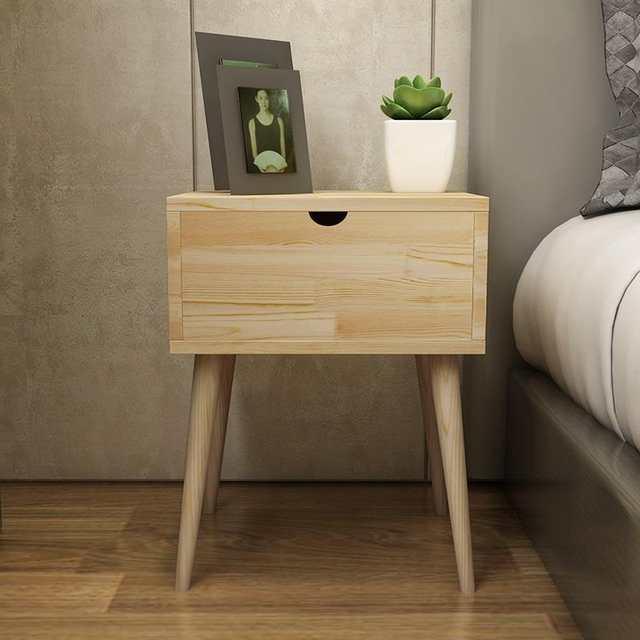 US $81.78 43% OFF mesita Noche Camera Da Letto Nordic European Shabby Chic  Wood Bedroom Furniture Mueble De Dormitorio Cabinet Quarto Nightstand-in ...