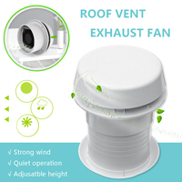 1Pcs 12V RV Energy saving Motorhome Roof Vent Ventilation Cooling Exhaust Fan Noiseless For Travel Motor Homes Trailer