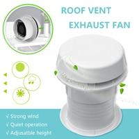 1Pcs 12V RV Energy saving Motorhome Roof Vent Ventilation Cooling Exhaust Fan Noiseless For Travel Motor Homes Trailer
