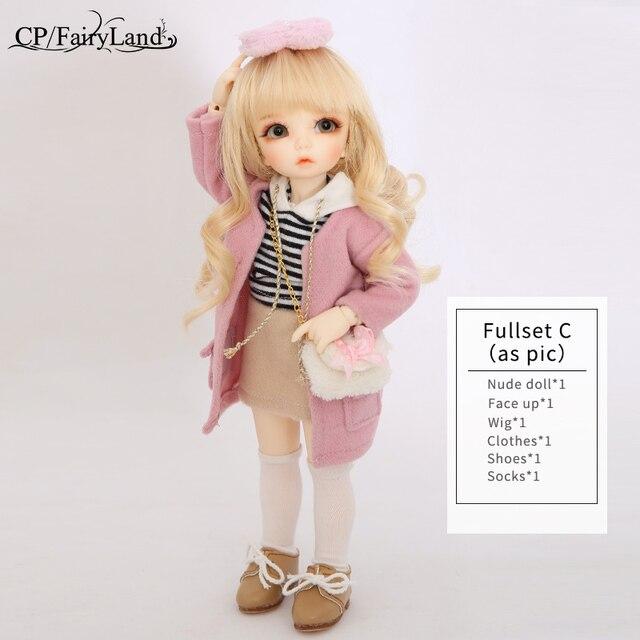 BJD Dolls Littlefee Ante 1 6 Yosd Pink Rose Golden Curly Hair Lolita Fullset Option Girl
