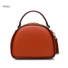 Luxury women messenger bags  crossbody bags for women genuine leather Tassel vintage retro fashion bag for work/party
