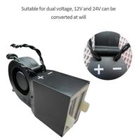 DC12V/24V 350W 500W PTC Ceramic Car Heating Heater Hot Fan Defroster Demister Car Electrical Heating Fans Instant Heating