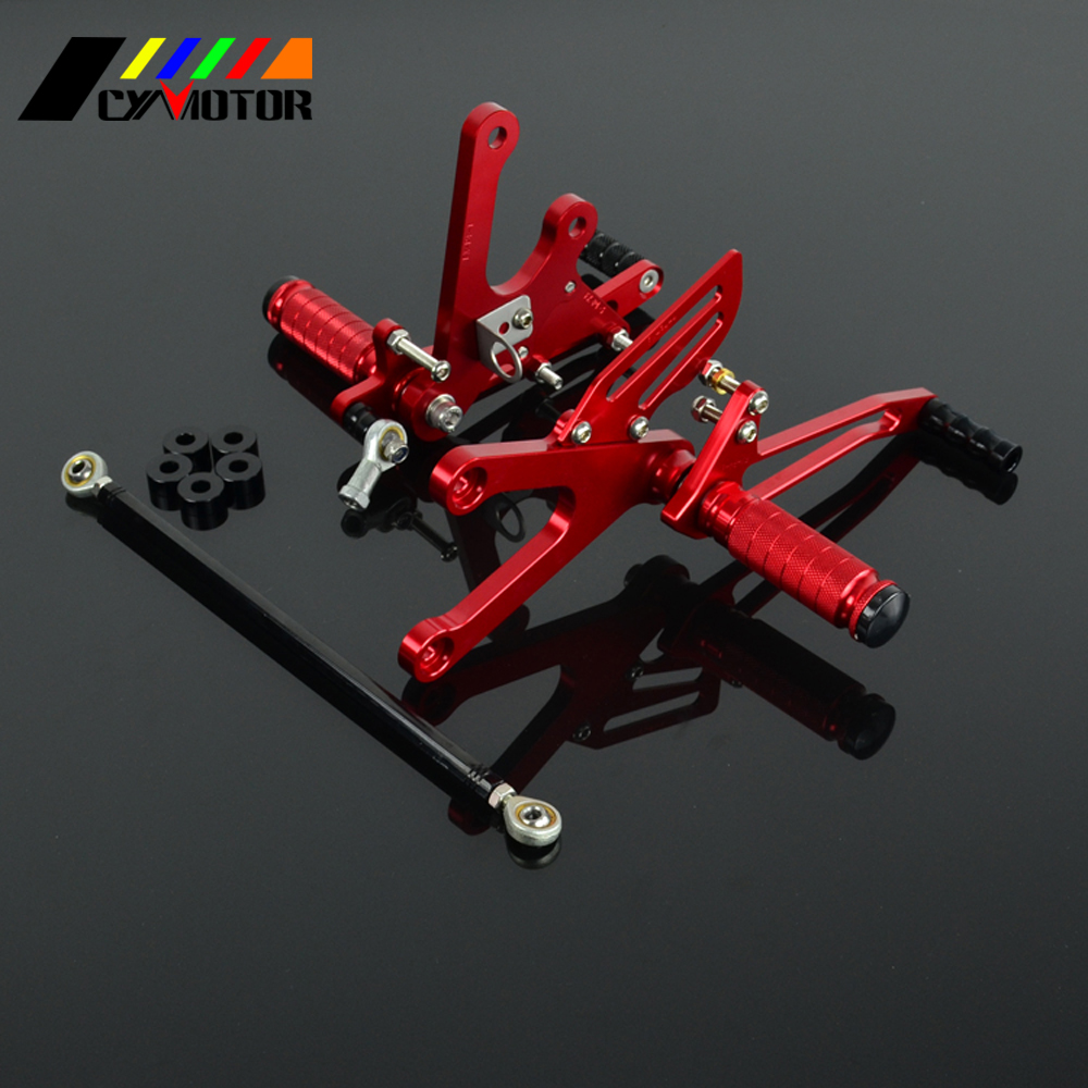 Motorcycle CNC Adjustable Foot Pegs Footpeg For HONDA NSR250 1994 1995 1996 1997 94 95 96
