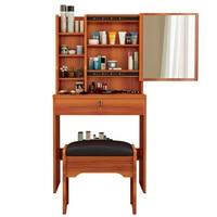 Do Sypialni Mueble De Dormitorio Comoda Para Makeup Box Retro Vintage Wood Quarto Korean Table Bedroom Furniture Dresser