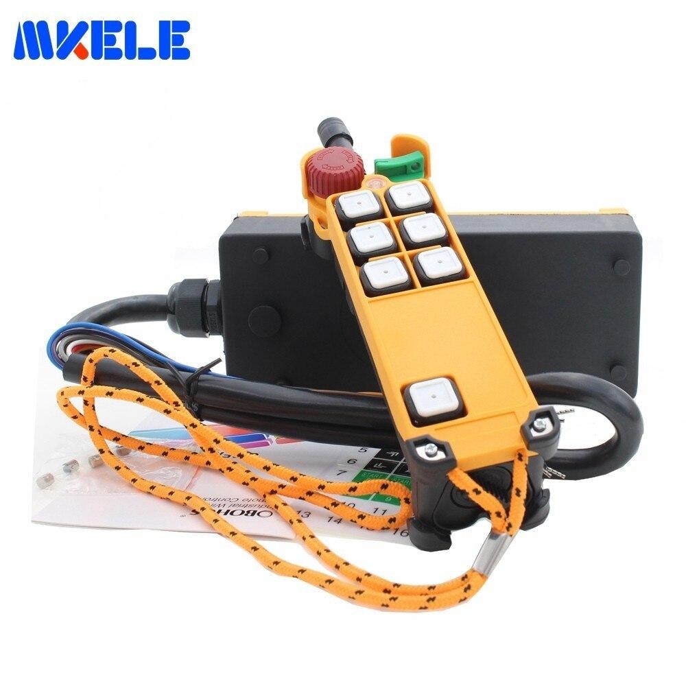 Nouveautés AC110V 220 V DC12V 24 V grue industrielle télécommande MKHS-4S sans fil transmetteur bouton poussoir interrupteur chine