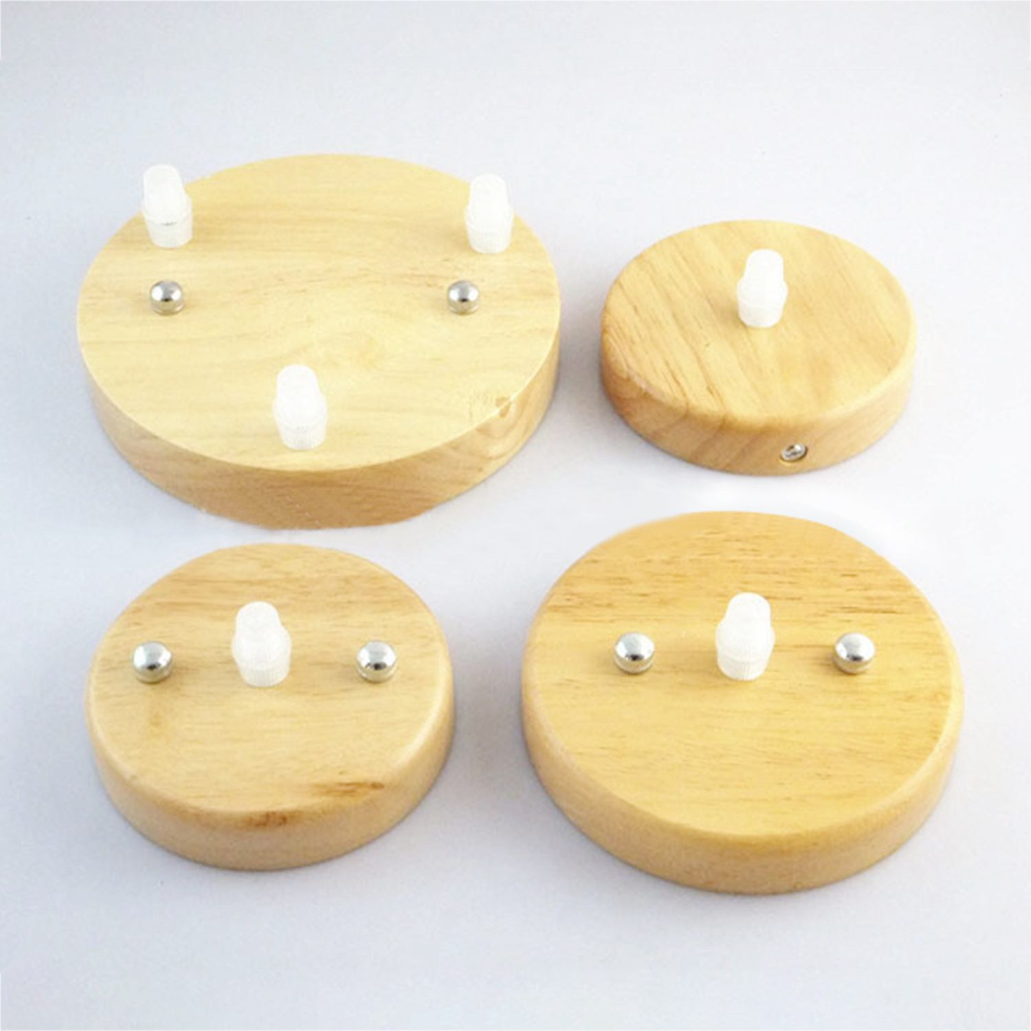 lamp base concise style modern Ceiling Plate Wooden ceiling holder E27 Lamp fitting chandelier Base DIY lighting accessories