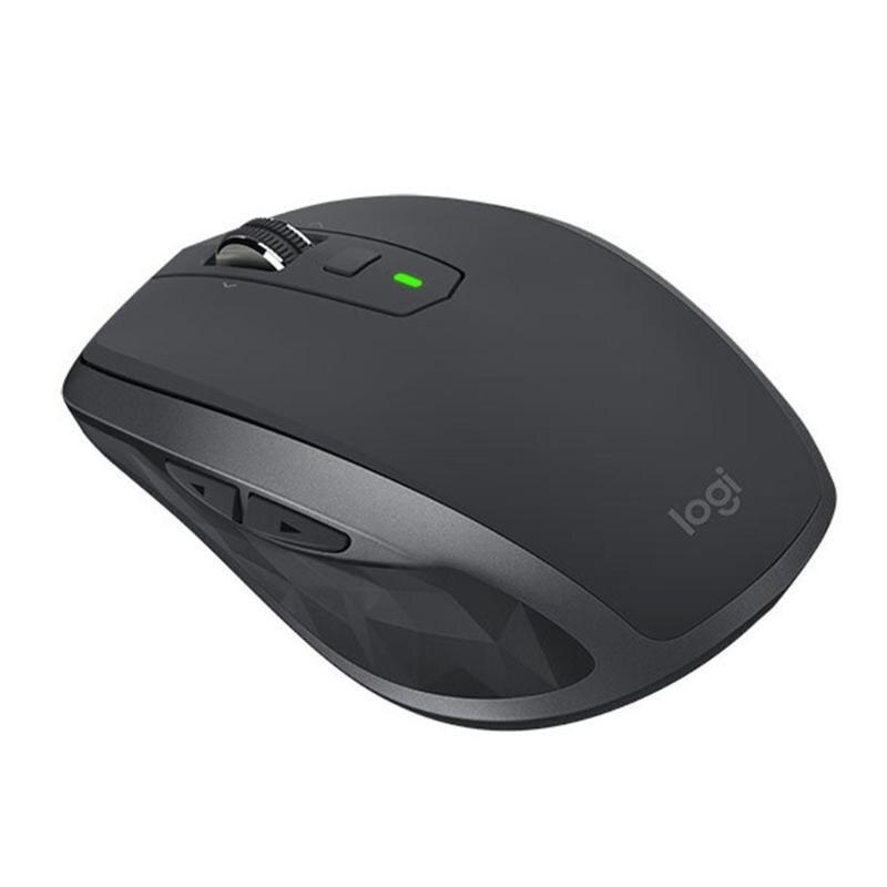 Souris de jeu sans fil Logitech MX partout 2 S 2.4 GHz 4000 DPI deux mains souris de Gamer Rechargeable à 7 boutons pour ordinateur portable PC