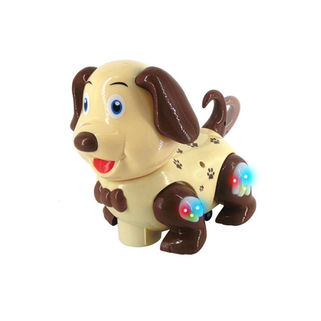 Electric Intelligent Dog Cat With Music Lights Cartoon Moving 0-6 Years Old 1 Pet Shaking Pet Children Toy