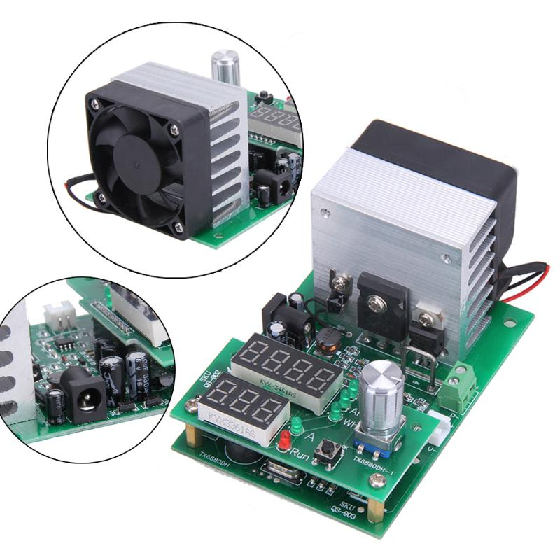 Constant Current Electronic Load 9.99A 60W 1 30V Battery Capacity TesterConstant current electronic load video more suitable for