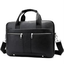 14 сумка для ноутбука A4 Docu Для мужчин t Бизнес Tote модный портфель 8522 сумка для Для мужчин из натуральной кожи Для Мужчин's Портфели кожа