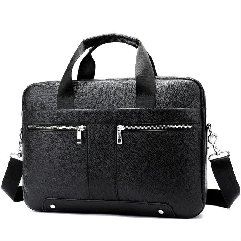 14 Laptop Bag For A4 Document Bussiness Tote Fashion Briefcase 8522 Bag For Men Genuine Leather Mens Briefcase Leather 14 Laptop Bag For A4 Document Bussiness Tote Fashion Briefcase 8522 Bag For Men Genuine Leather Mens Briefcase Leather