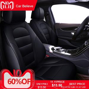 Car Believe Seat Cover For Ford Focus 2 3 S MAX Fiesta Kuga