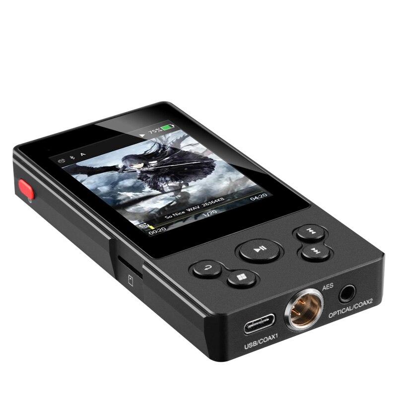 XDuoo X10T II lecteur de musique professionnel platine numérique DSD lecteur MP3 HD sans perte 32 bits/384 KHz APT-X prend en charge 256 go de mémoire