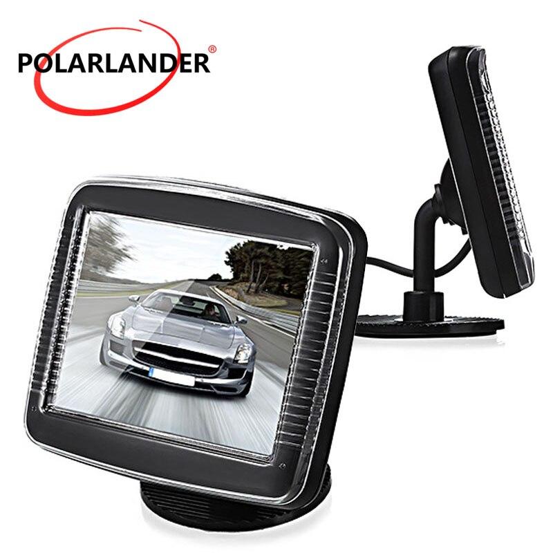 3,5 inch Digital Color TFT Lcd für Universal Fahrzeug der Parken Backup Rückansicht Kamera Auto Monitor Kleine Display Verkauf