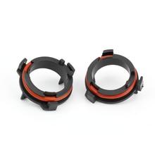Adapter-Lamp Front-Headlight-Kit OPEL CR-V Astra G Honda Bulbs-Holder Base H7 LED 2pcs