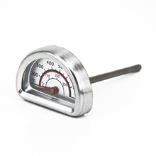 BBQ Barbecue Smoker Grill Thermometer Temperature Gauge Stainless Steel Heat Indicator For Charbroil 1x