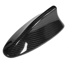 Car Carbon Fiber Antenna Shark Fin Cover Trim for BMW F10 F11 F18 F01 F02 M5 Aerial Sticker Accessories