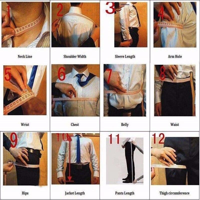 Moderno esmoquin de un botón con puntos negros para novio mantón solapa padrinos de boda trajes de 3 piezas para hombre (chaqueta + Pantalones + chaleco + corbata) NO: 271 - 3