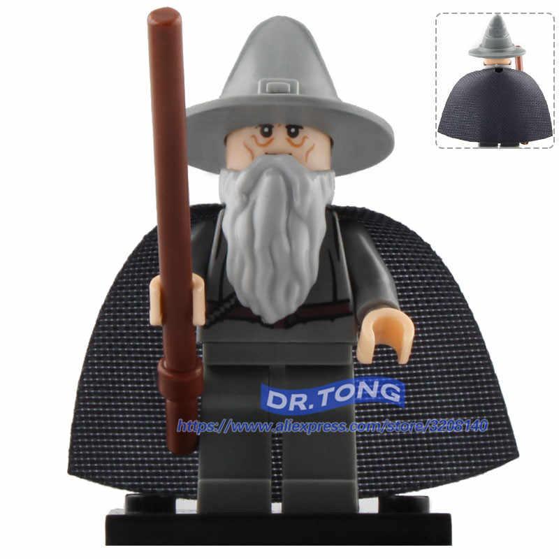 Venta única PG8160 Samwise Gamgee Frodo Bolsón gandf Radagast Saruman Beorn Señor de los anillos juguetes para niños