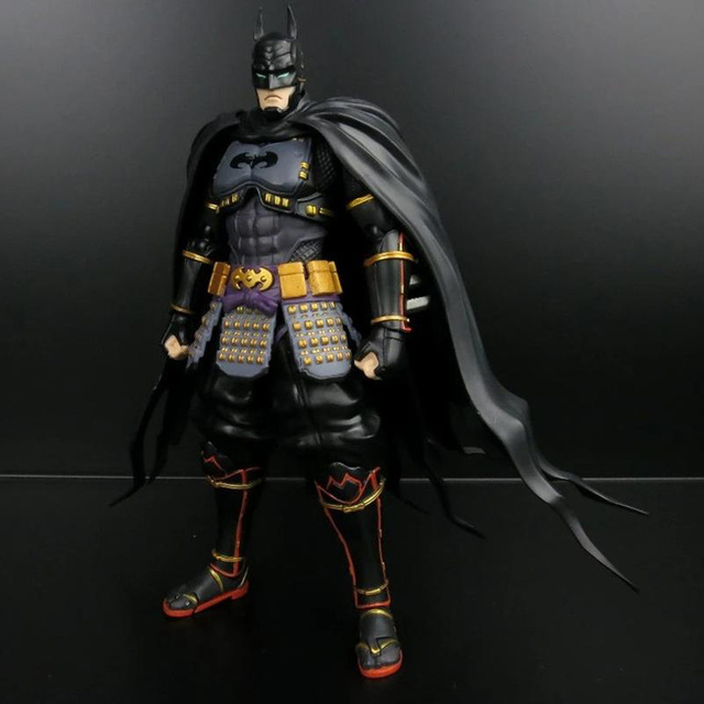 SHF Brinquedos Batman Super Herói The Avengers Figuras de Ação Ninja 3 Amanhecer Da Justiça Figuras Móveis Bonecas Modelo Boneca Estatueta 16 cm