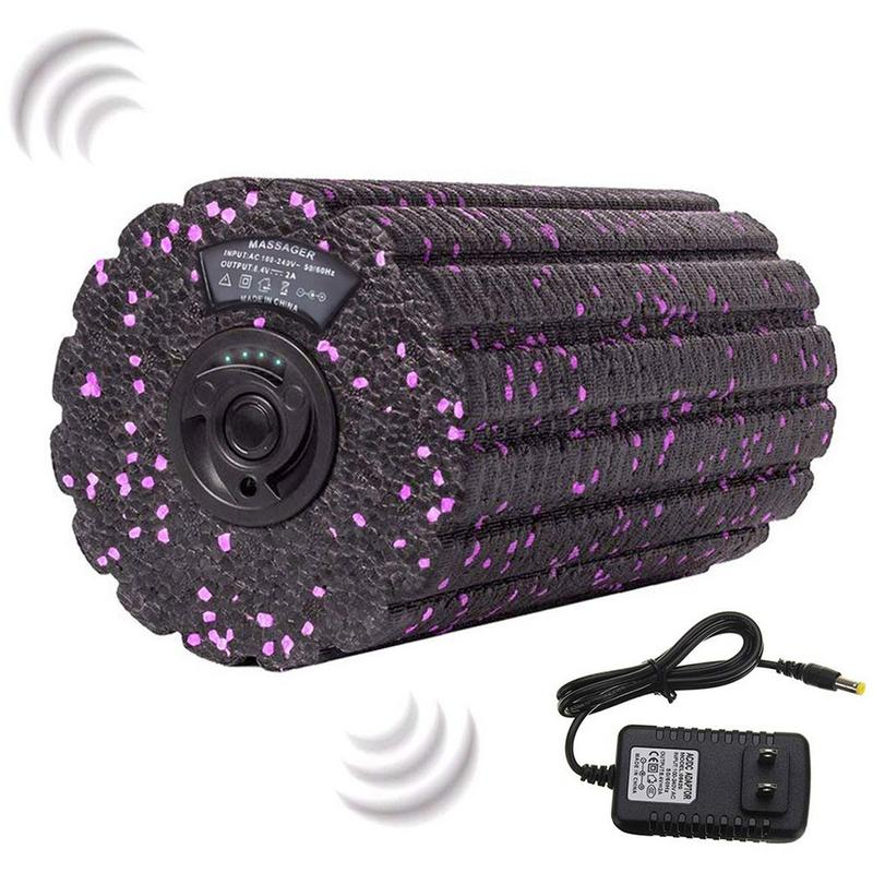 Electric Yoga Column Vibration Foam Shaft Charging Roller Muscle Relaxation Vibration Massager Massage Roller Fitness EquipmentsElectric Yoga Column Vibration Foam Shaft Charging Roller Muscle Relaxation Vibration Massager Massage Roller Fitness Equipments