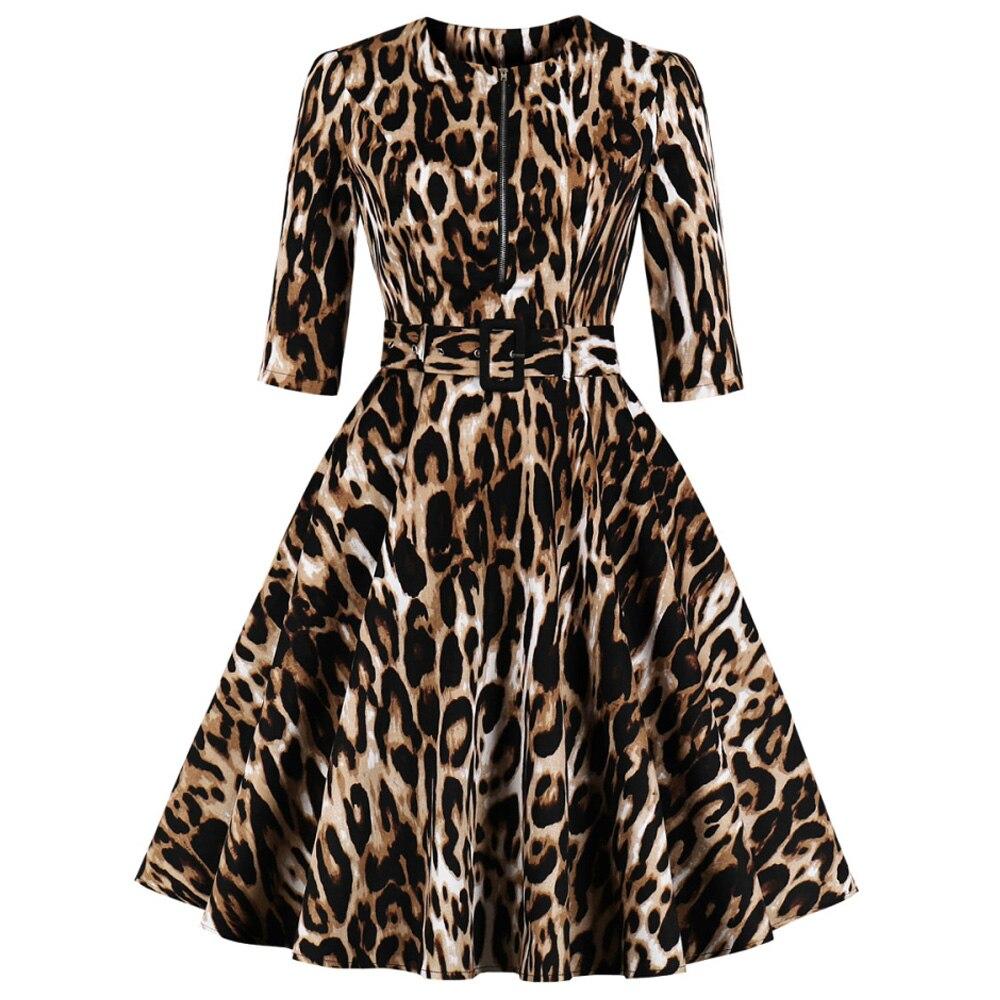 UK Size 8-16 Ladies Fashion Clothing Feminine Elegant Christmas Black Dresses Long Sleeve Swing Dress Happy New Year Womens Casual Xmas Pattern Casual Dress for Cocktail Party