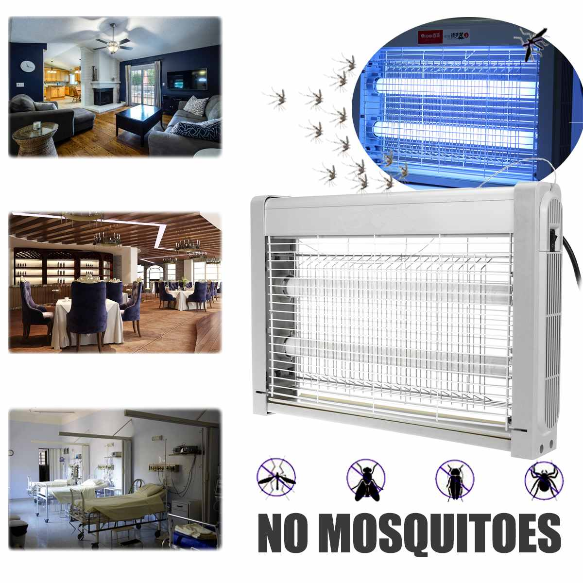 220V Electric Shock Insect Killer Anti Mosquito Killer Trap Light Home Room Garden Fly Wasp Bug Insect Zapper Trap Catcher Lamp220V Electric Shock Insect Killer Anti Mosquito Killer Trap Light Home Room Garden Fly Wasp Bug Insect Zapper Trap Catcher Lamp