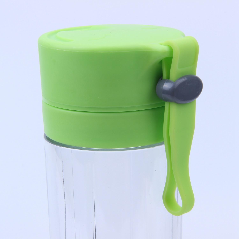 NEW-380ml USB Rechargeable Juicer Bottle Cup Juice Citrus Blender Lemon Vegetables Fruit Milkshake Smoothie Squeezers Reamers