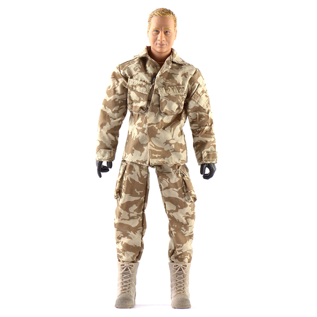 1/6 Scale Movable Soldier Action Figure with Accessories S.A.S Figure Military Soldier Model Kit for Military Fans Present Gift