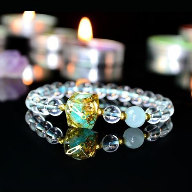 Orgonite Eliminate Eegative Energy Natural Energy Crystal Chamilia Bracelet Energy Converter Reiki Jewelry Women's Bracelet